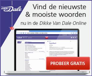 Dikke Van Dale Online proberen